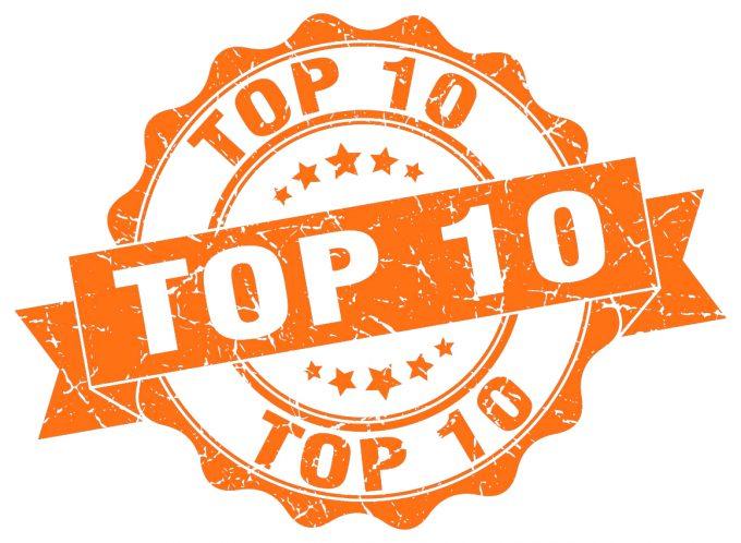 Top 10 Orange